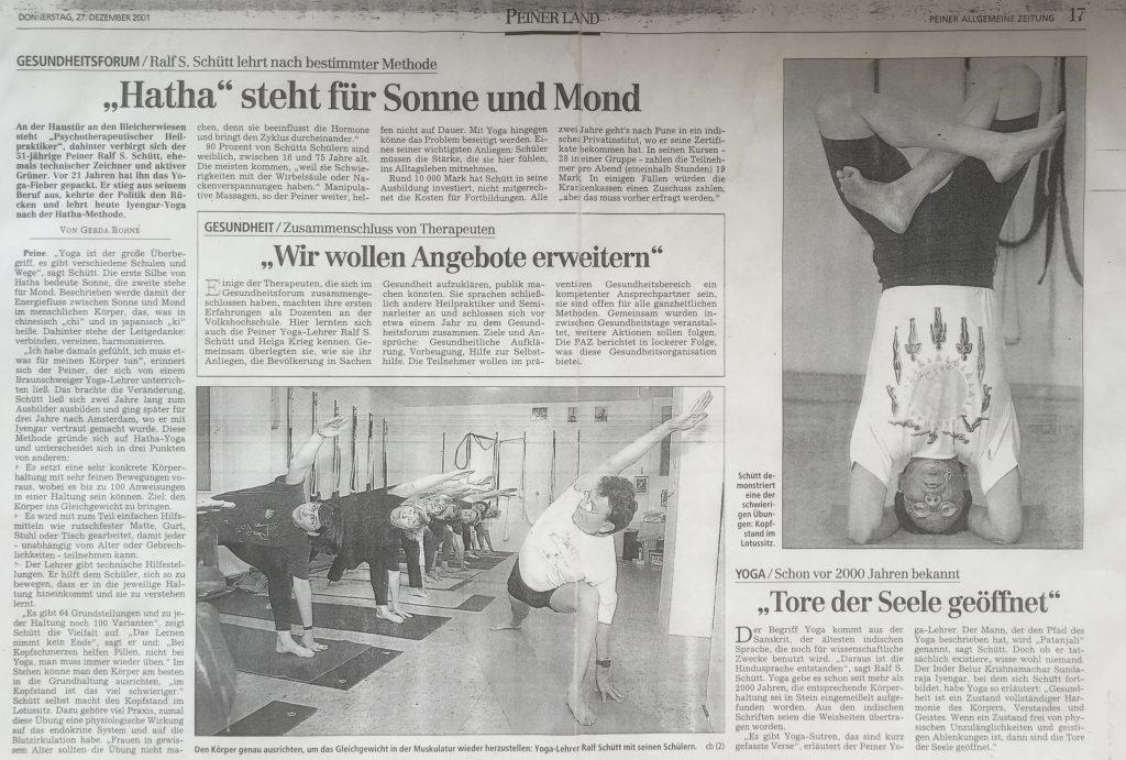 Yoga Peine Presse 2