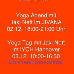 Yoga Gastlehrer